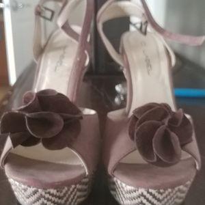 Beautiful brown Platform Sandals